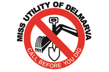 Image of the Miss Utility of Delmarva logo