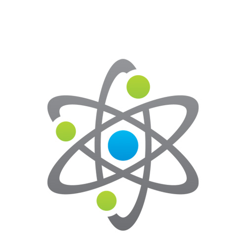 Picture of a atom